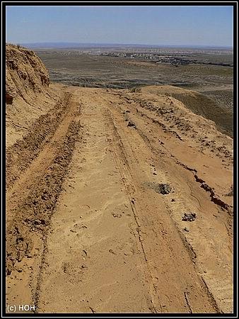 Piste zum Coalmine Canyon