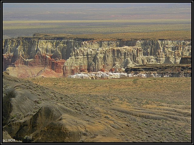 Abbruchkante des Coalmine Canyons