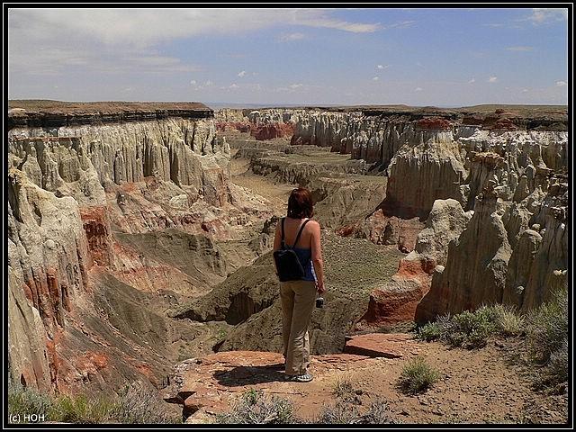 Mel am Coalmine Canyon