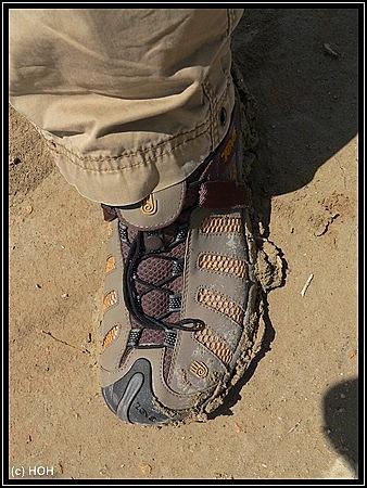 Wanderschuhe so wie sie aussehen sollten .... :-)