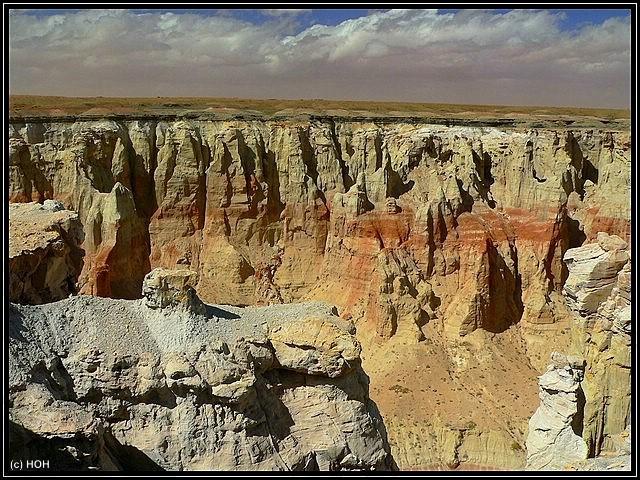 Eindrücke am Canyonrand ... der Upper Coal Mine Canyon