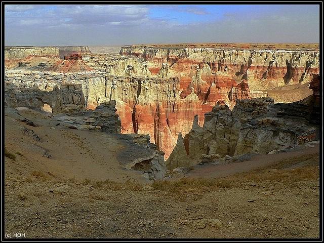 Eindrücke am Canyonrand ...
