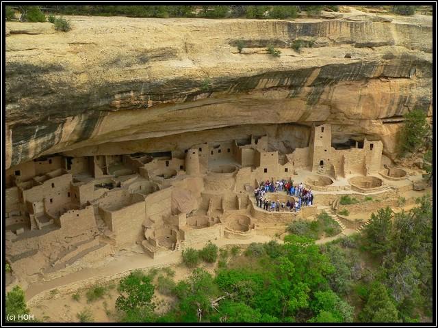 Cliff Palace im Chapin Mesa