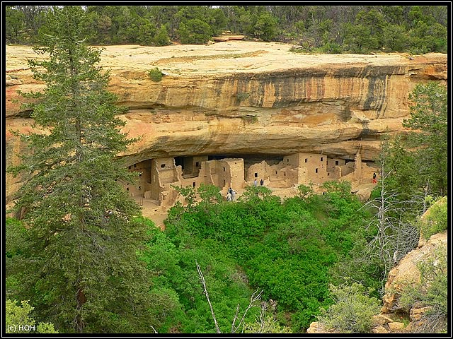 Wetherill Mesa von oben aus gesehen