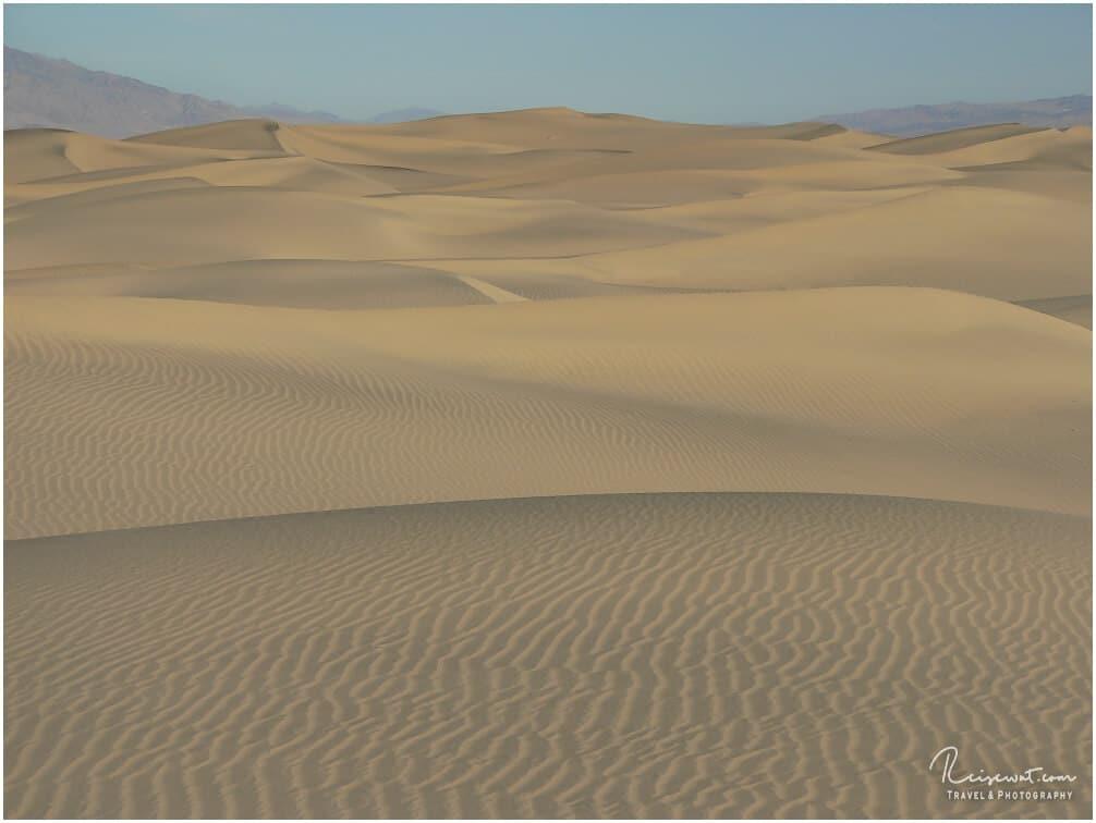 Sand soweit das Auge reicht ...