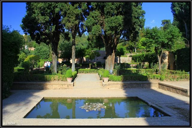 Garten beim Partal-Palast