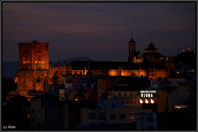 Das abendliche Granada