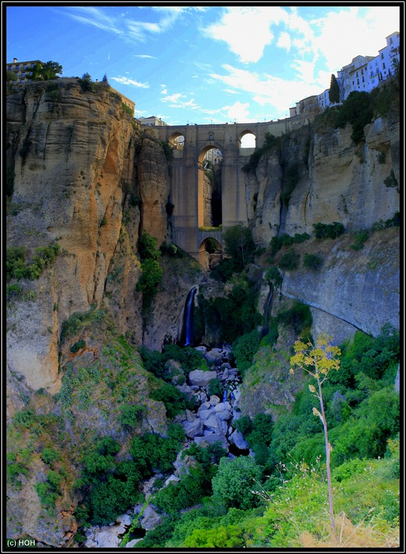 Erste Station unserer Andalusien Rundreise, die Puente Nuevo in Ronda