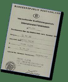 Internationaler Führerschein ... Pflicht für Australien