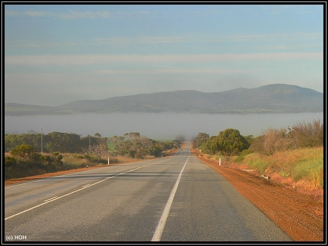 Auf der Fahrt zum Stirling Range NP