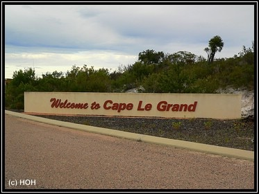 Welcome to Cape Le Grand