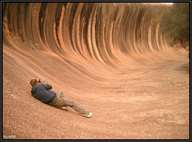 Photographing Wave Rock