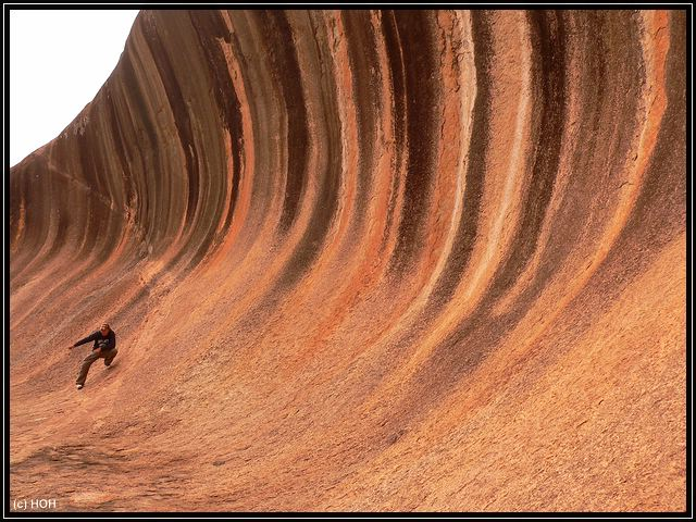 Wave Rock Surfing