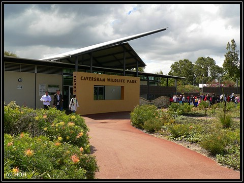 Caversham Wildlife Park Eingang