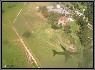 Landanflug Perth