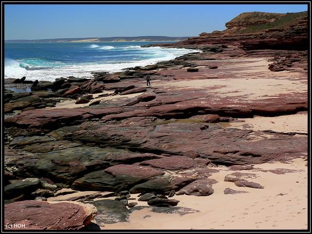 Küste beim Mushroom Rock