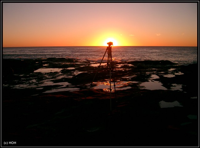 Tripod Sunset