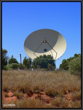 """The Big Dish"" bei Carnarvon"