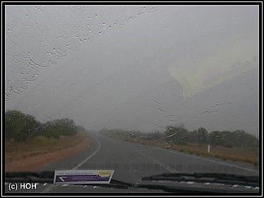 Regen, Regen ... nichts als Regen