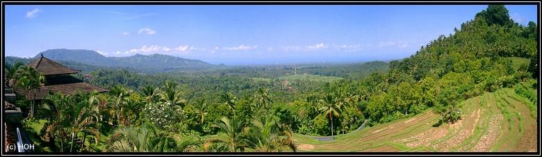 Aussichtspunkt am Fuße des Gunung Agung