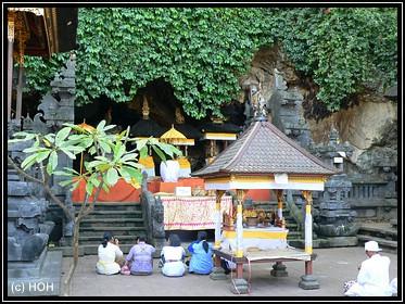 Goa Lawah ... die Fledermaushöhle