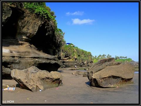 Küste bei Tanah Lot