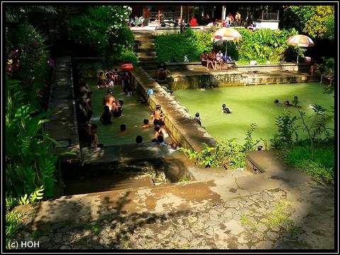 Heisse Quellen bei Banjar