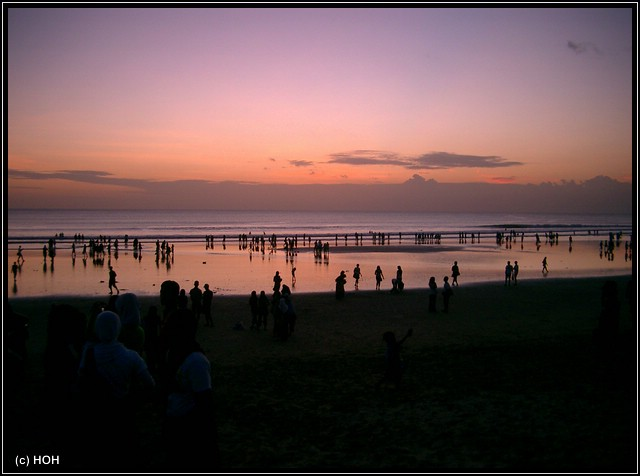Kuta Sonnenuntergang