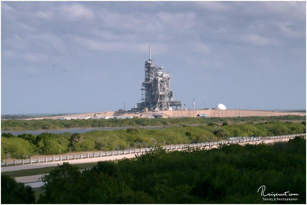 Die Abschussrampe im Kennedy Space Center