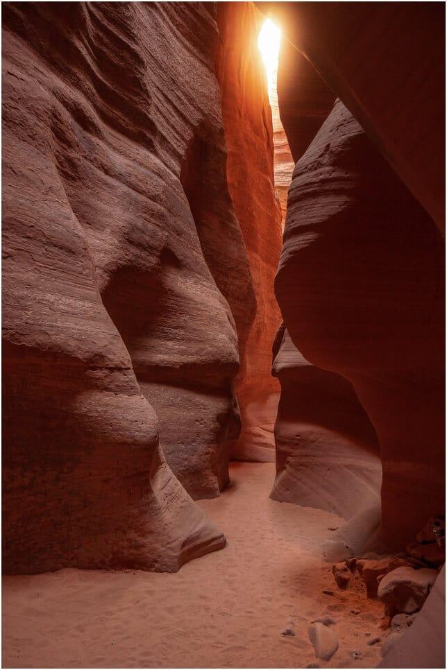 Beams sucht man im Canyon X vergeblich, obwohl die Vorraussetzungen dafür eigentlich gut sind