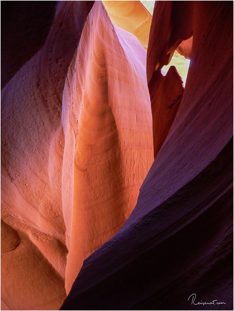Diesen Mini-Arch findet man ganz am Ende des Lower Antelope, noch hinter der Treppe die nach oben führt