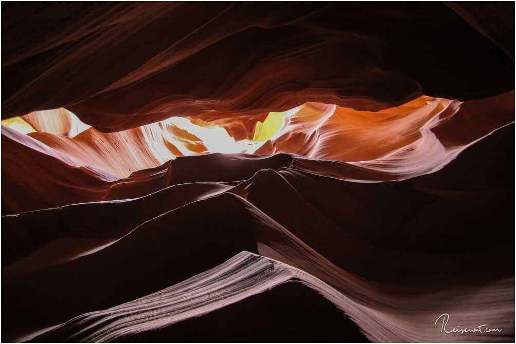 Ein Motiv was man ohne Guide nicht unbedingt findet ... der Upsidedown Butte, der an die Felsen im Monument Valley erinnert. Nur auf dem Kopf stehend.