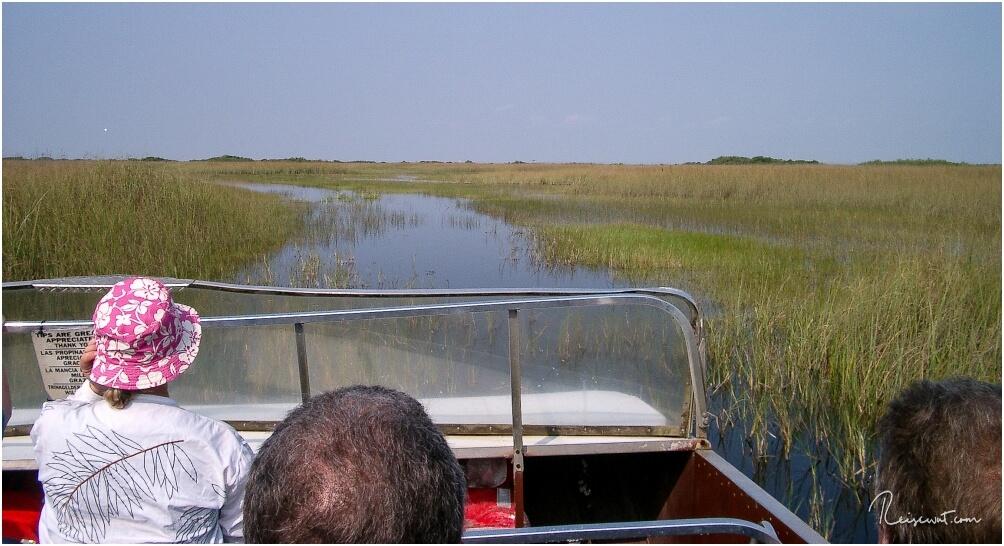 Mit dem Airboat durch die Everglades