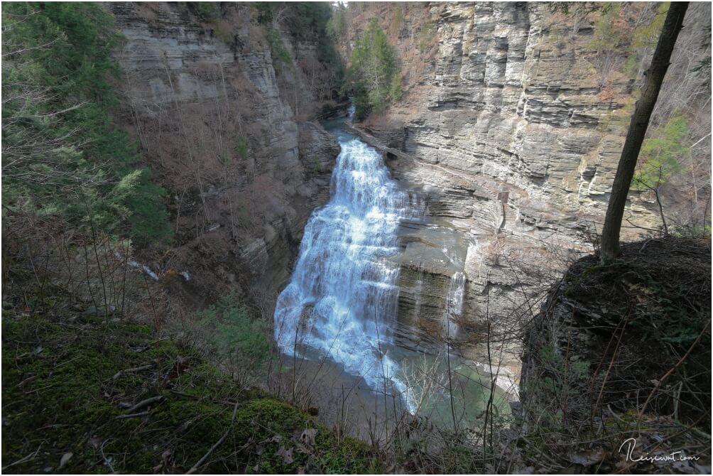 Die Lucifer Falls erreicht man auf verschiedenen Trails