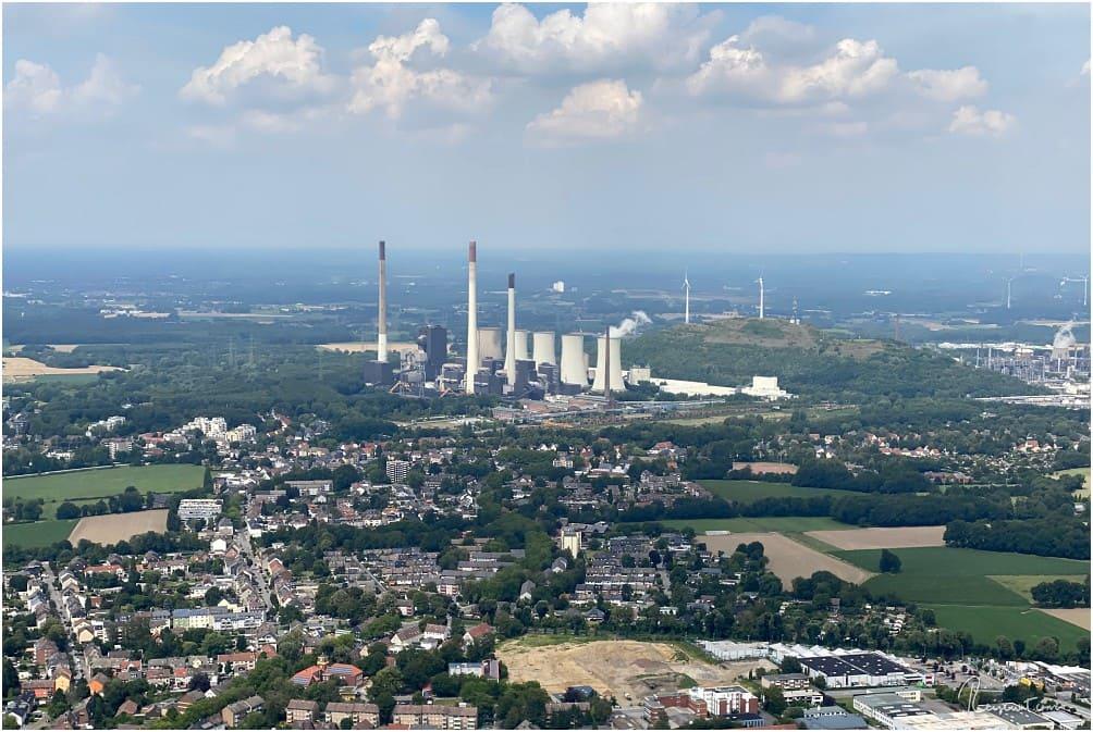 Das Uniper Kraftwerk in Gelsenkirchen-Scholven