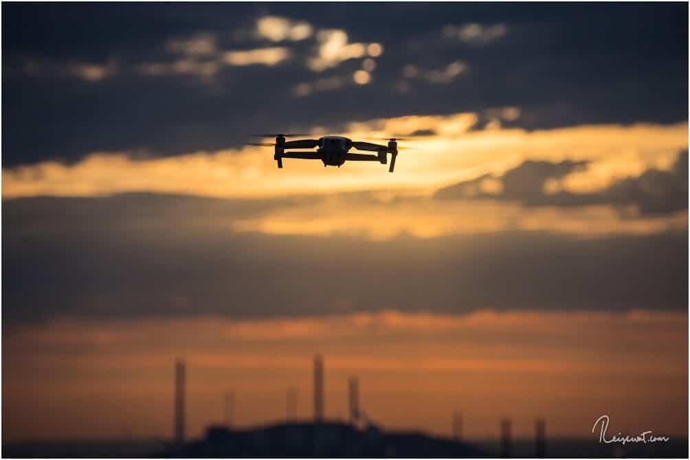Fliegen mit Drohne ist hier oben übrigens erlaubt