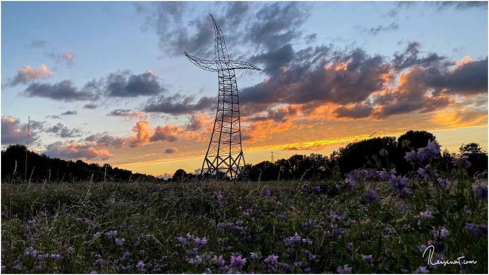 Gerade zum Sonnenuntergang ist der Zauberlehrling ein tolles Fotomotiv