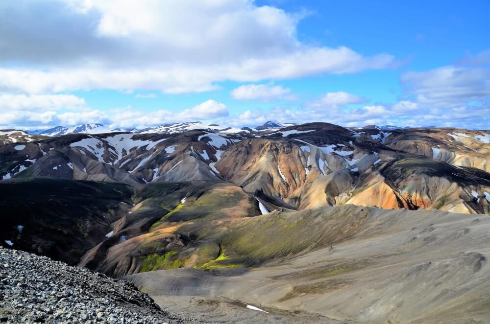 Landmannalaugar im isländischen Hochland ist der Traum vieler Wanderer