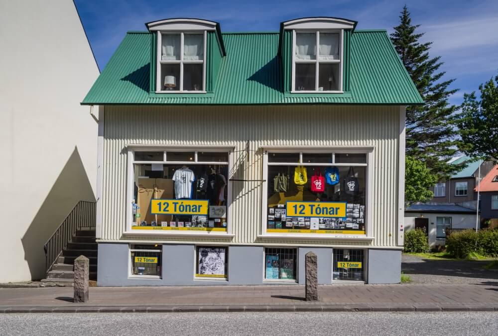 Musik ist Trumpf in Island, nicht nur im 12 Tónar.
