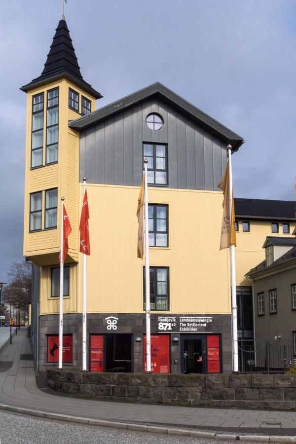 Ein Besuch den Reykjavík 871±2 biete sich an einem regnerischen Tag in Reykjavik ebenfalls an