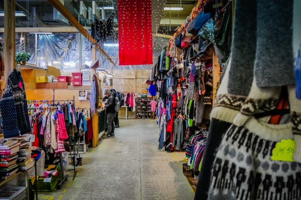 Am Wochenende gehts ab auf den Flohmarkt, dem Kolaportið.