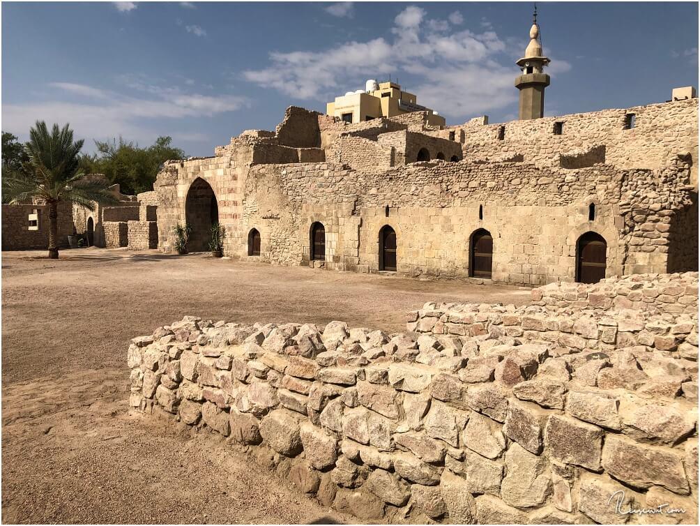 Auch das Aqaba Castle kann mit dem Jordan Pass kostenlos besucht werden
