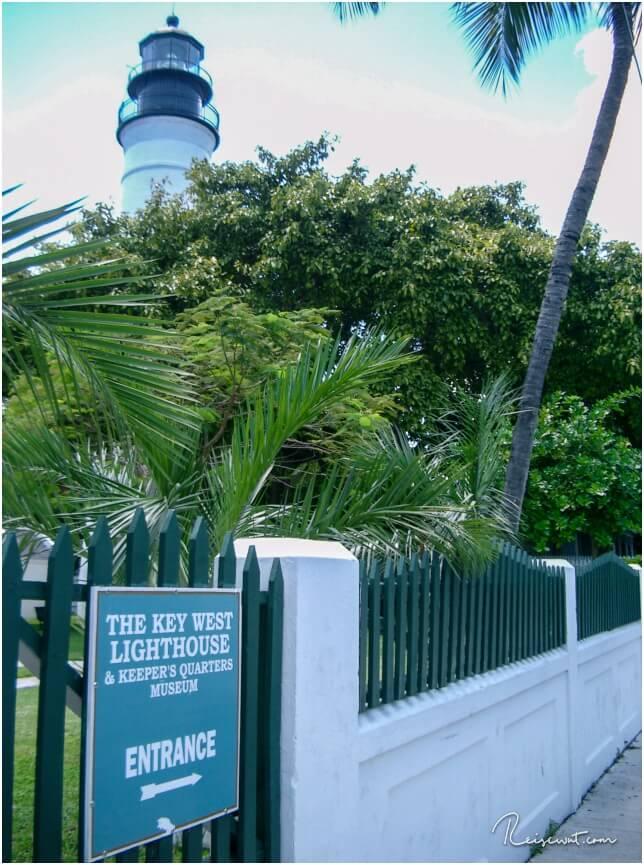 Oben vom Key West Lighthouse hat man einen tollen Rundumblick