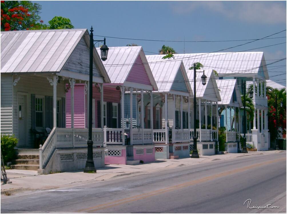 Die Old Town auf Key West mit zahlreichen pastellfarbenen Häusern ist wirklich ein Traum