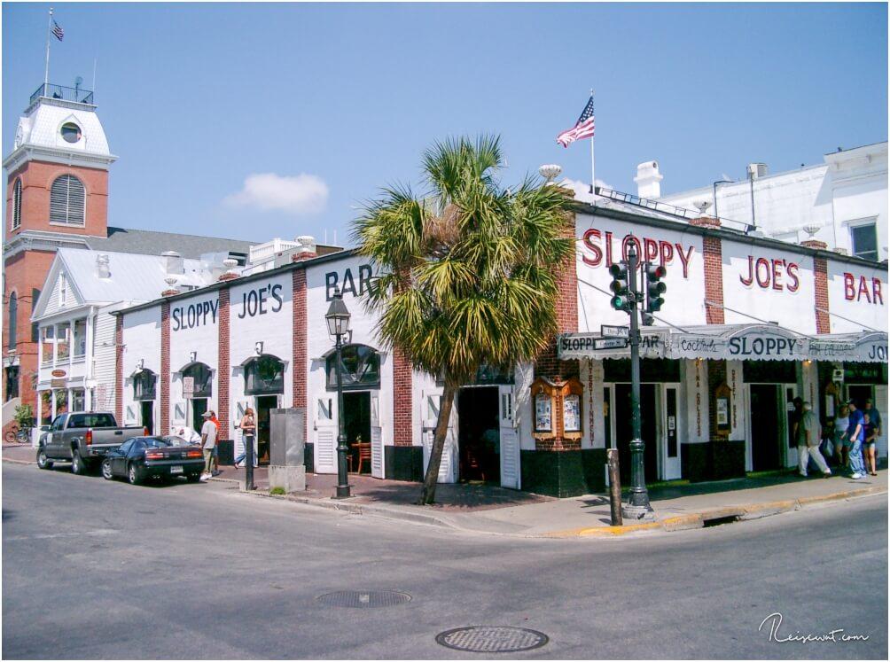 Ernst Hemingways Lieblingskneipe, das Sloppy Joe's auf der Duval Street