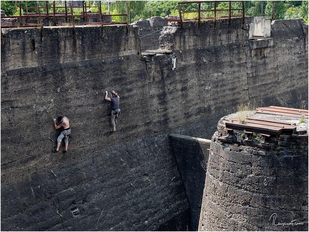 Einer der zahlreichen Kletterparcours