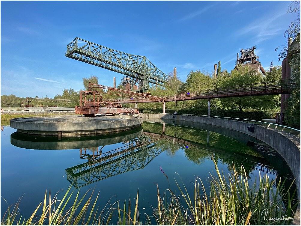 """Das """"Krokodil"""" im Landschaftspark Duisburg-Nord ist ein beliebtes Fotomotiv"""