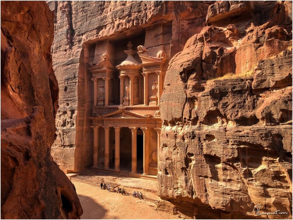 Das Schatzhaus in Wadi Rum ist vermutlich für die meisten Leute der Hauptgrund für einen Besuch in Petra