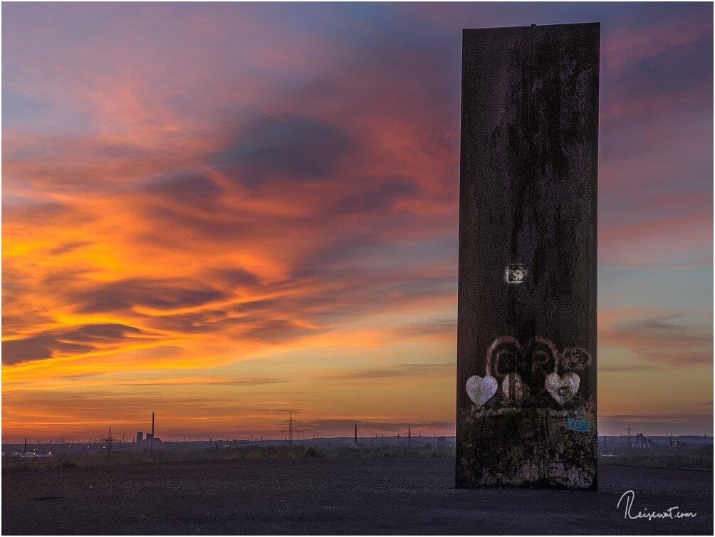 Mit etwas Glück erwischt man solch eine tolle Wolkenverfärbung früh Morgens