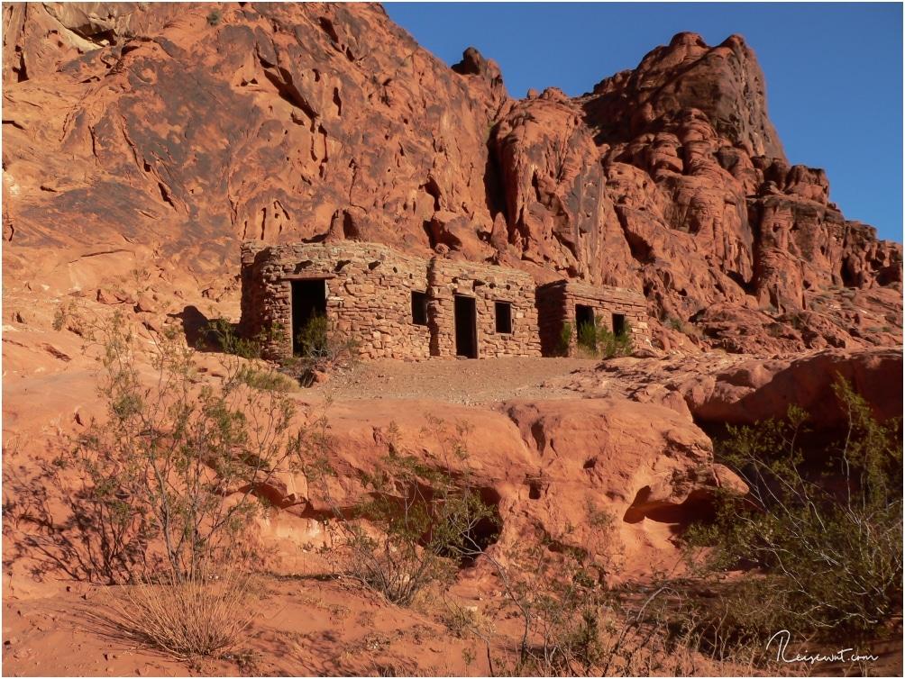 The Cabins wurden 1930 von den Civilian Conservation Corps gebaut. Heute befindet sich dort ein Picknick-Bereich